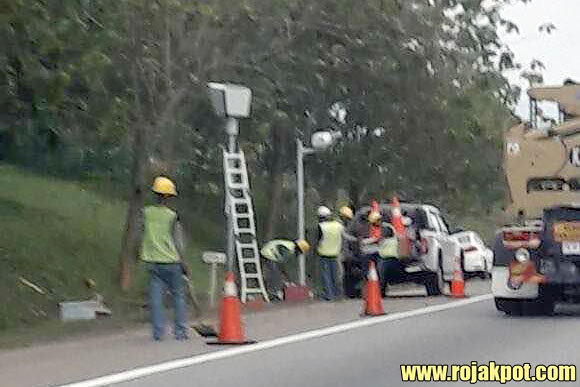 The Malaysian AES & Speed Trap Camera Locations - Alor Gajah