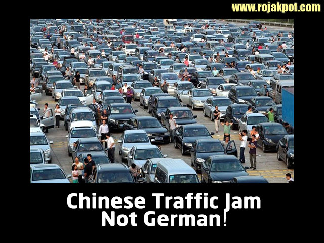 did the germans abandon cars to protest fuel price