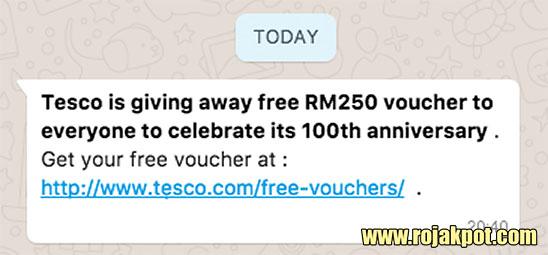 The Tesco 100th Anniversary WhatsApp Hoax Debunked!