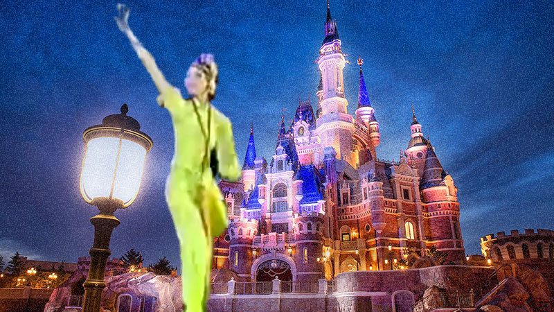 The Shanghai Disney Robot Dancer Hoax Debunked!