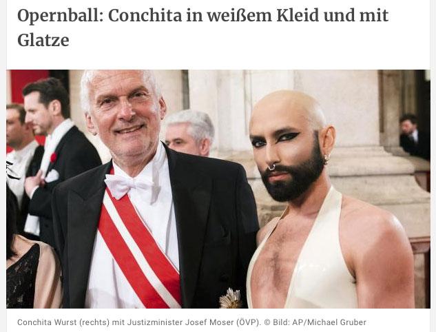 Conchita Wurst at Opernball 2019 proof