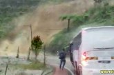 Dramatic Escape From Major Genting Highlands Landslide!