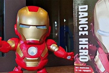 The Iron Man Dance Hero Is So KEWT!
