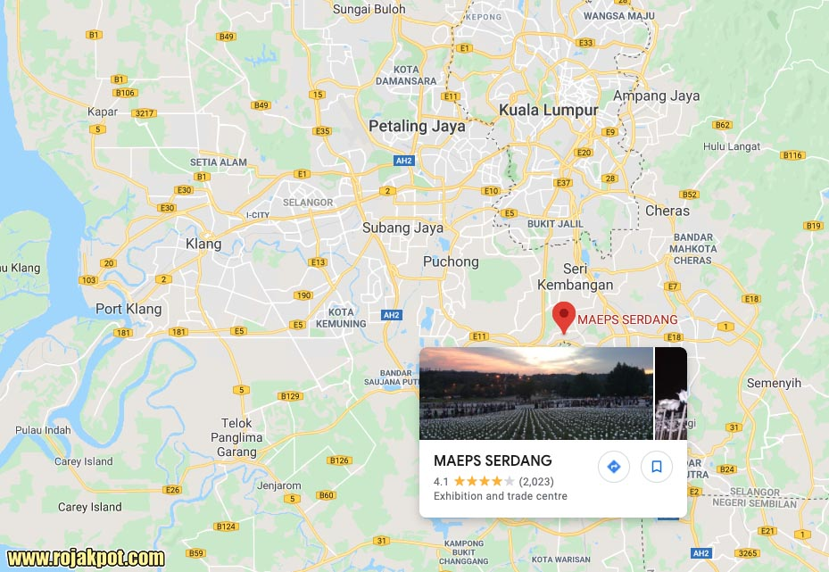 MAEPS location
