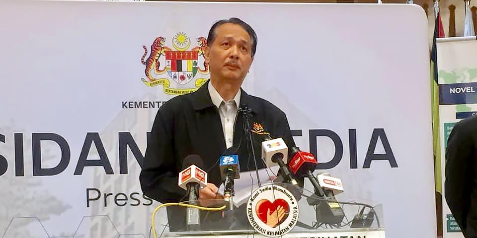 COVID-19 in Malaysia : 5691 Cases, 3663 Healed, 96 Dead