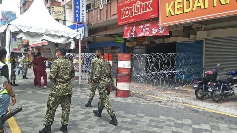 Jalan Masjid India Under Lockdown 03