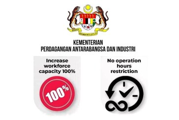 COVID-19 in Malaysia : New Business Restrictions Lifted!