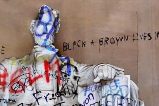 BLM Protestors Attacked Abe Lincoln Statue? Not So Fast!