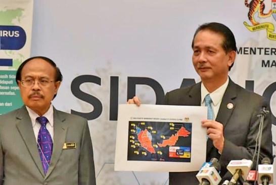 COVID-19 Malaysia : 9094 Cases, 8803 Recovered, 125 Dead
