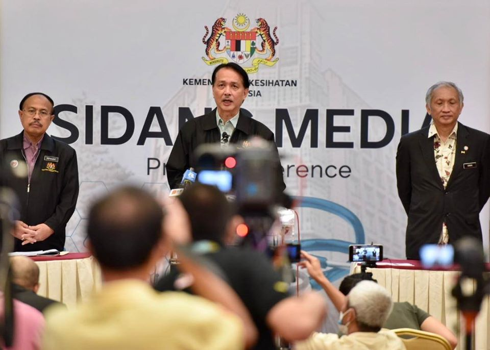 COVID-19 Malaysia : 9129 Cases, 8821 Recovered, 125 Dead