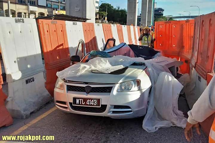 Driver lucky escape MRR2 SUKE Highway