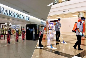 Parkson 1 Utama : Shut Down After COVID-19 Infection!