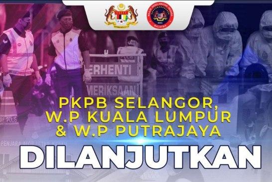 KL, Selangor, Putrajaya CMCO / PKPB Extended 2 Weeks! 😱