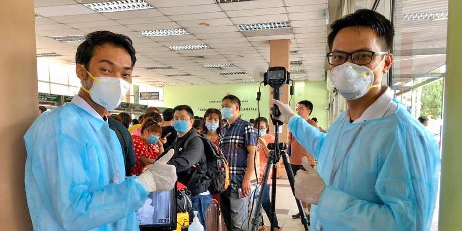 COVID-19 Malaysia : 54775 Cases, 41597 Healed, 335 Dead