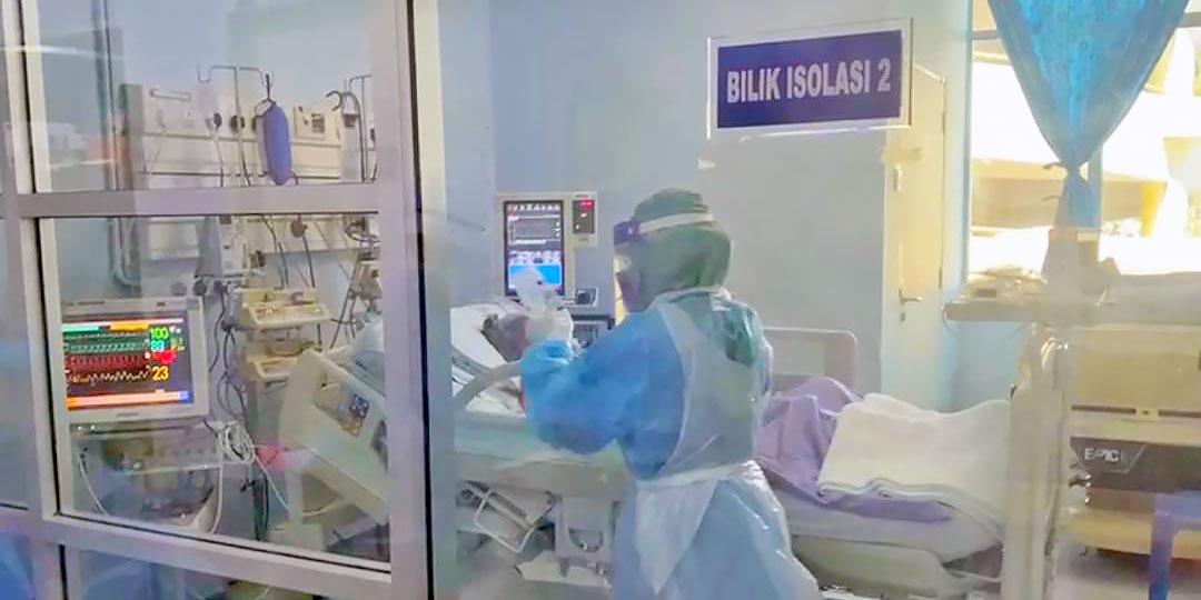 COVID-19 Malaysia : 61861 Cases, 50204 Healed, 350 Dead