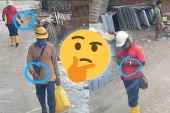 Foreign Workers Walking Around With COVID-19 Bracelets?