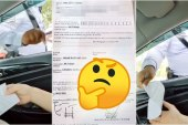 Was This Couple Fined For Sitting Together In Their Car?