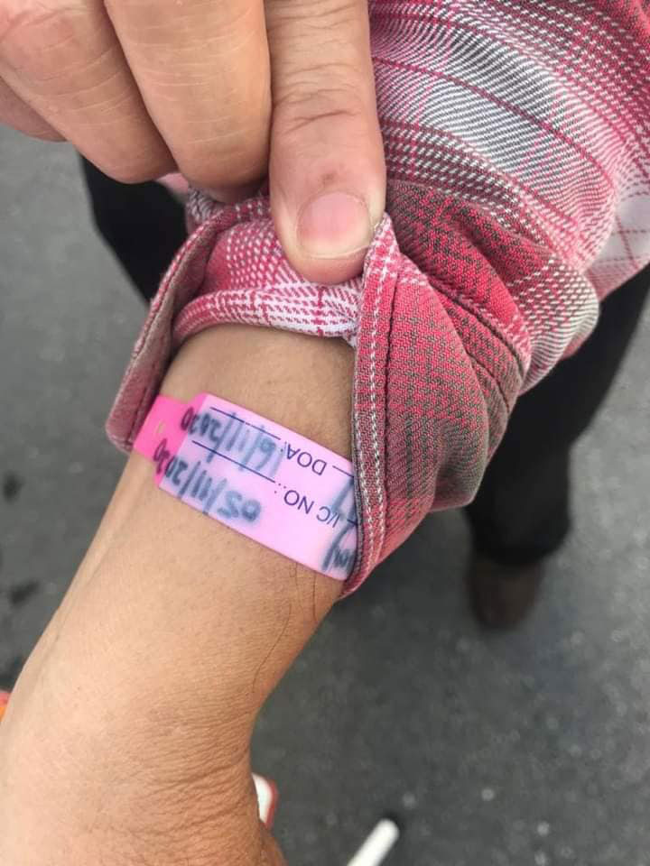 Man With COVID-19 Bracelet Caught Outside Jelutong Market