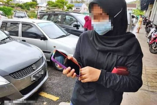 Penang girl pink COVID-19 bracelet caught 02