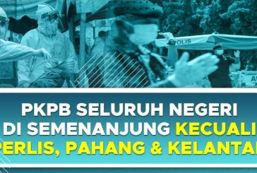 KL, Putrajaya + 8 States : CMCO Lockdown Until 6 December!