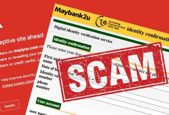 Maybank B40 Subsidy Scam : Don't Click / Call!