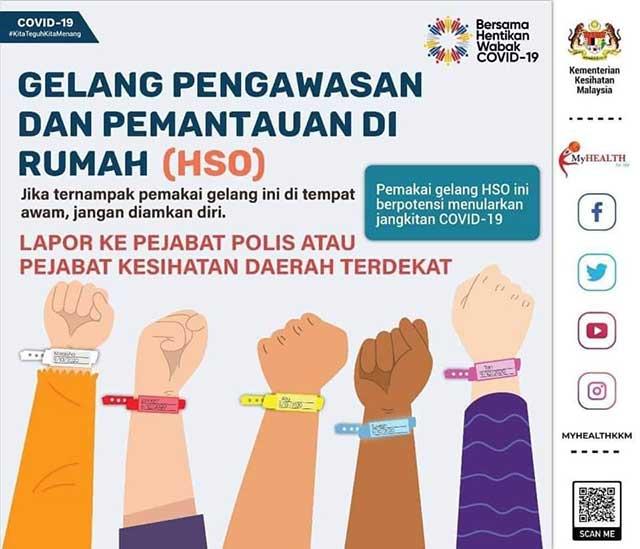 House Surveillance Order HSO bracelet notice