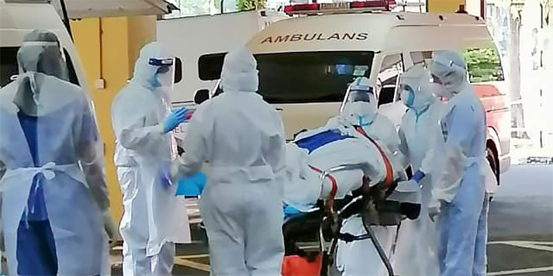 COVID-19 in Malaysia : 381813 Cases, 358726 Discharged, 1400 Dead