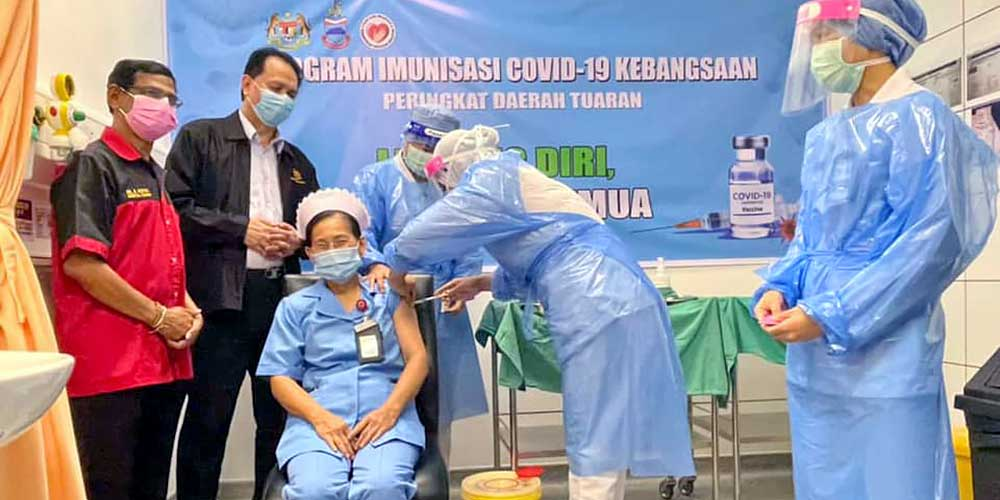 COVID-19 in Malaysia : 427927 Cases, 392555 Discharged, 1610 Dead