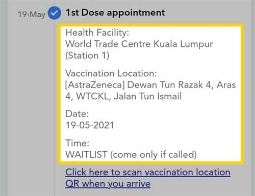 AstraZeneca Vaccine Waiting List : Look Out For The Alert!
