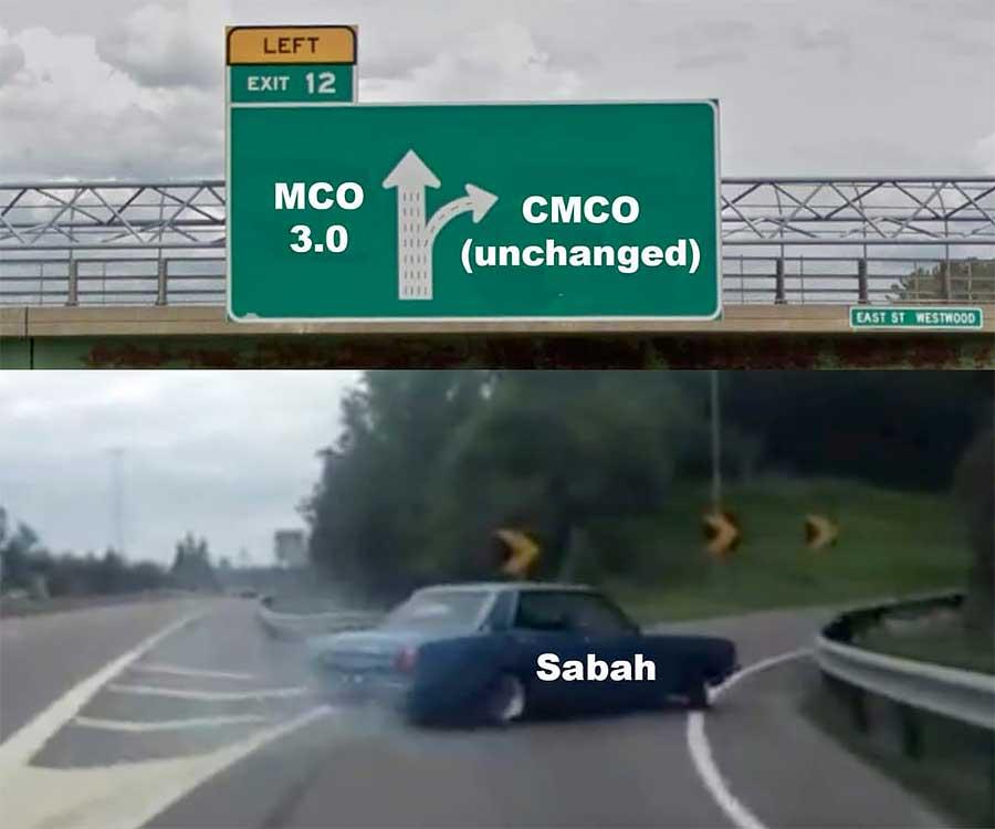 No MCO 3.0 In Sabah, Sarawak May Follow Too!