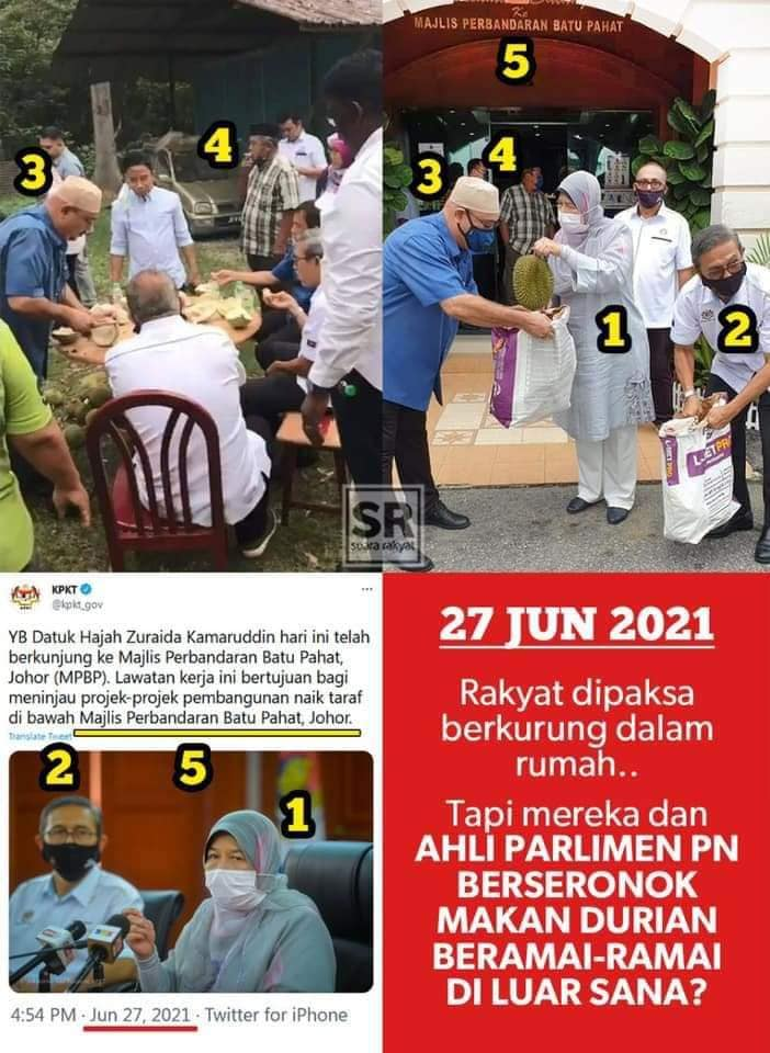 Deputy Speaker Finally Admits Joining Durian Party!