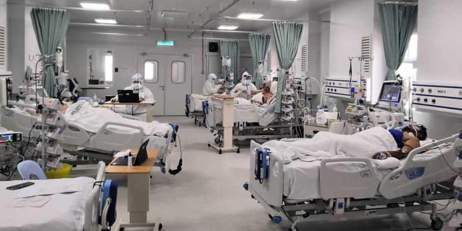 COVID-19 in Malaysia Today : 1,662,913 Cases | 15,550 Dead