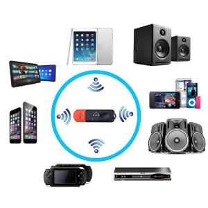 Bluetooth-mottagare för bil för högtalare för bilspelare