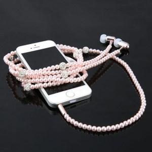 Smycken Pärlhalsband Hörlurar Mobiltelefontillbehör