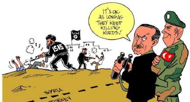 Курды просят защиты России от «фашистского турецкого режима»