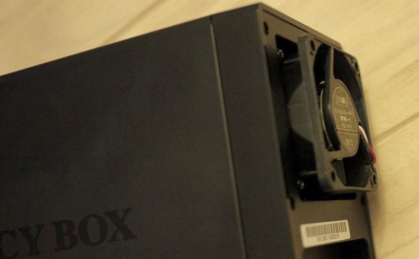 Silencing the IcyBox IB-RD3620SU3