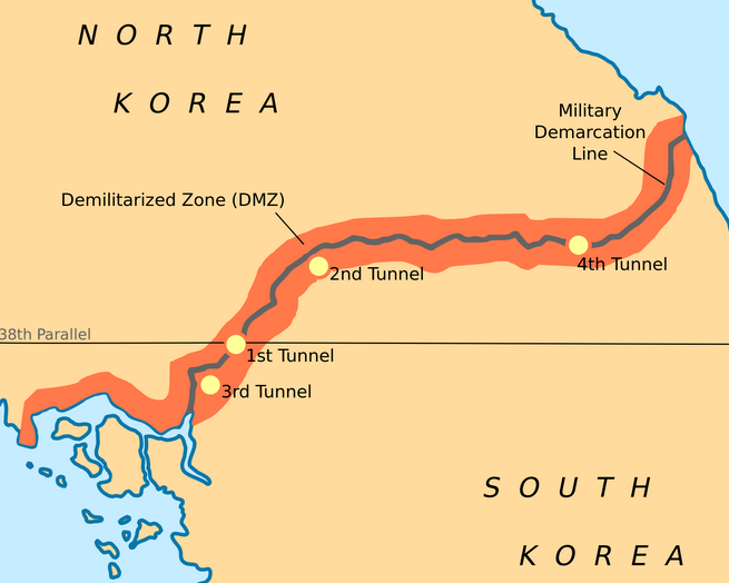 the united states military used to monitor the area of the dmz north of the imjim river with the 2nd infantry division as well as along the chorwon corridor