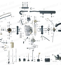 roketa atv 02 engine wiring and exhaust parts rh roketapartsdept com roketa atv wiring roketa 250 atv wiring diagram [ 1200 x 882 Pixel ]