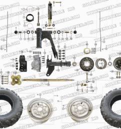 roketa atv 11 rear wheel assembly parts cj5 clutch diagram roketa clutch diagram [ 1200 x 900 Pixel ]