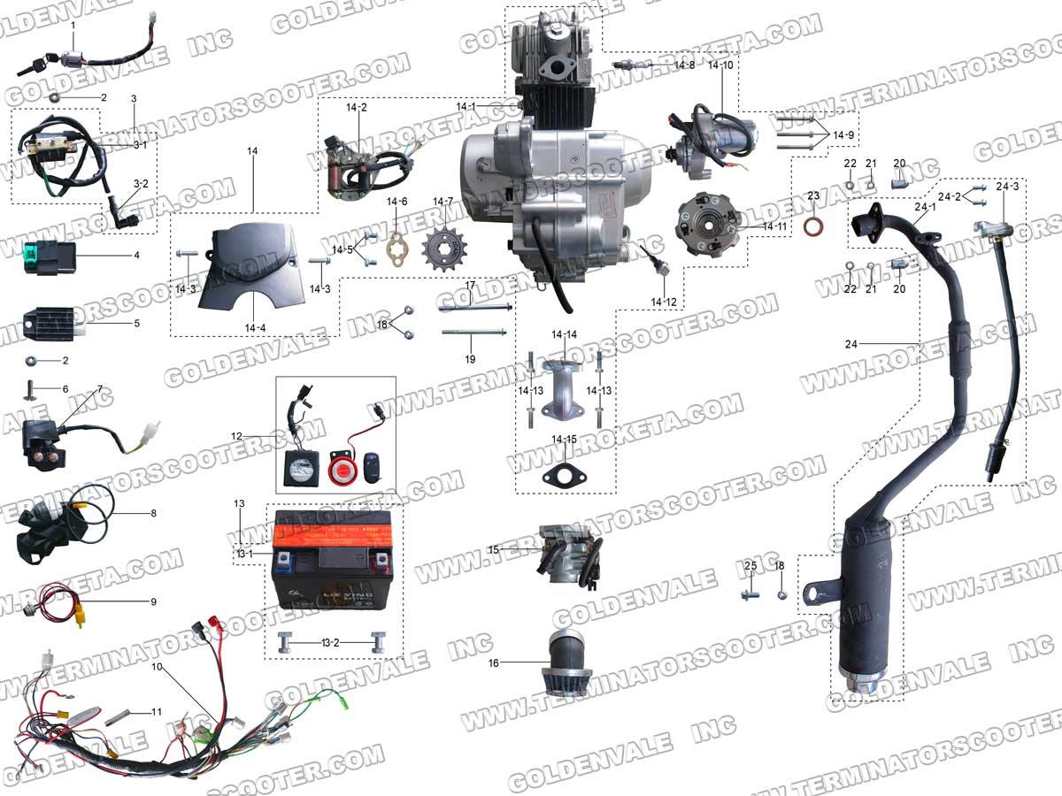 2007 110cc Atv Wiring Diagram Schematic,Atv.Free Download ...