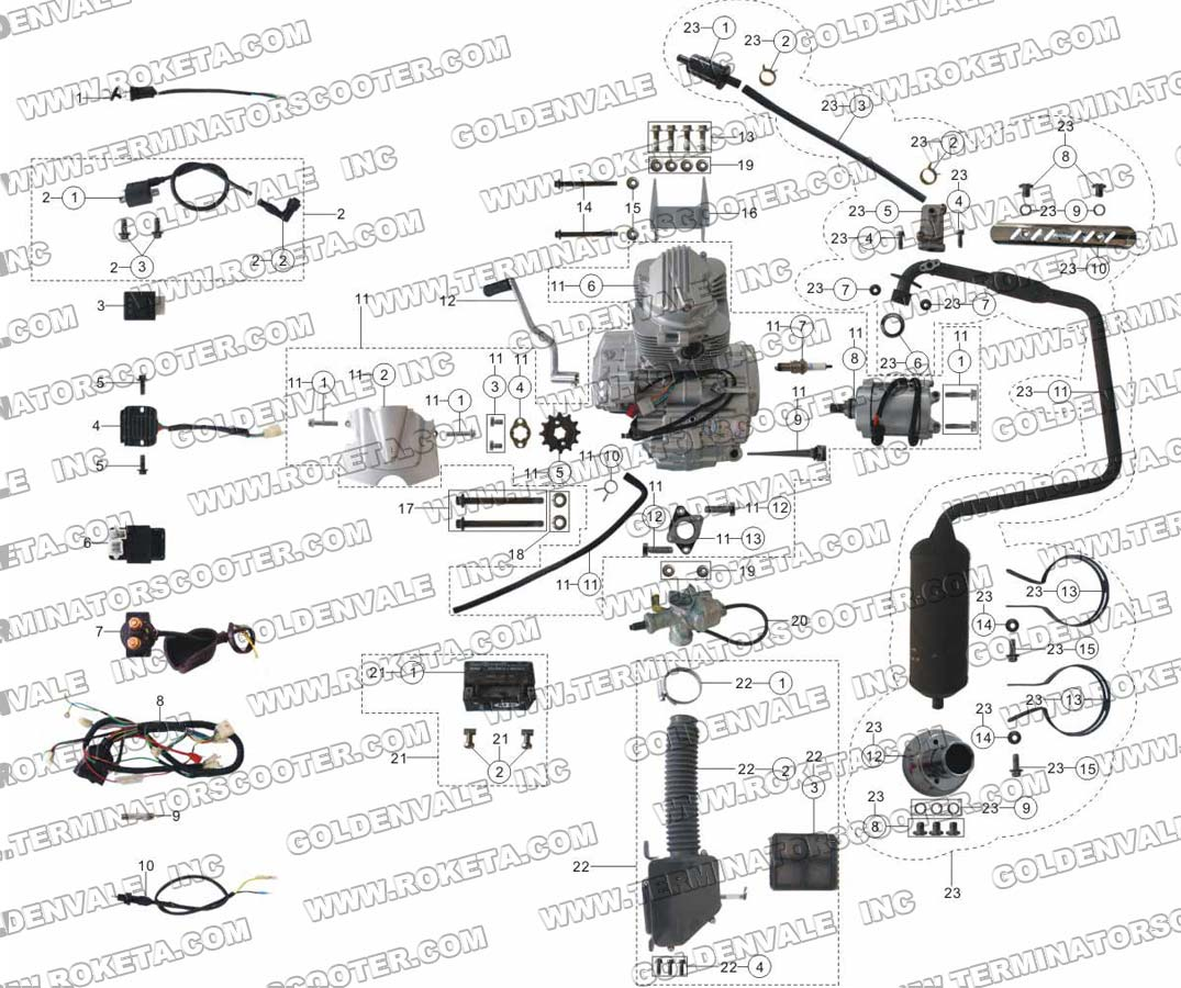 139qmb wiring diagram light with 3 switches for engine 50cc elsavadorla
