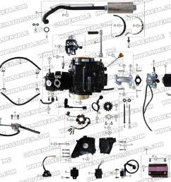 roketa atv 67 engine wiring and exhaust parts st roketa parts department 50cc roketa scooter wiring diagram trusted diagrams go kart  [ 1200 x 900 Pixel ]