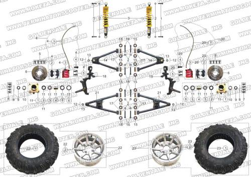 small resolution of 250cc roketa buggy