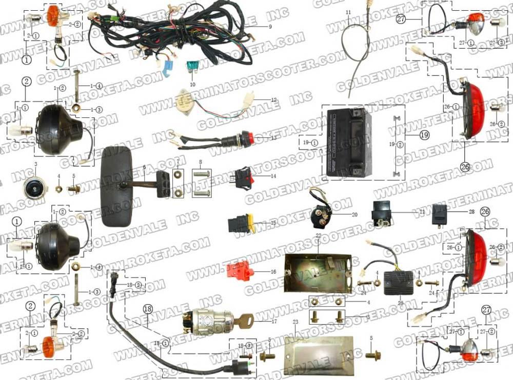 medium resolution of  roketa 250 gk 19 dune buggy wiring diagram wiring diagram liry on