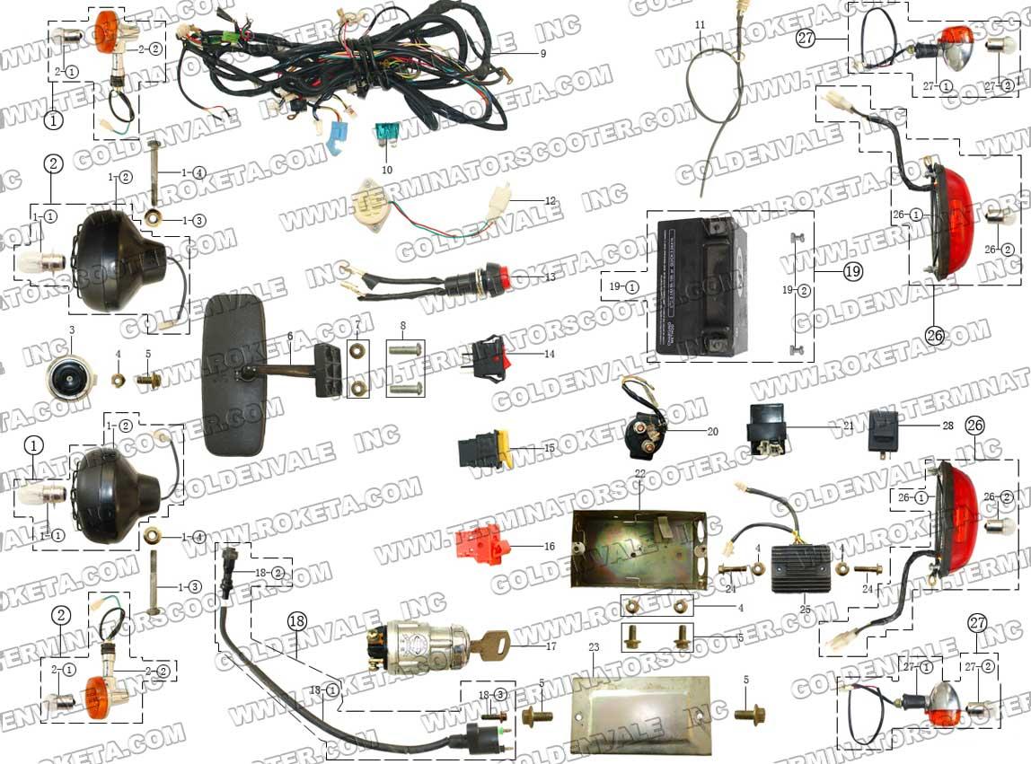 hight resolution of  roketa 250 gk 19 dune buggy wiring diagram wiring diagram liry on