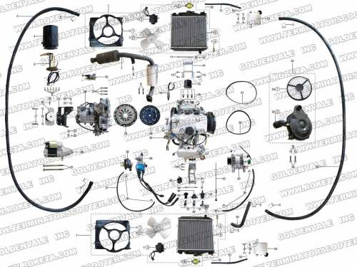 small resolution of roketum 800cc engine wiring diagram
