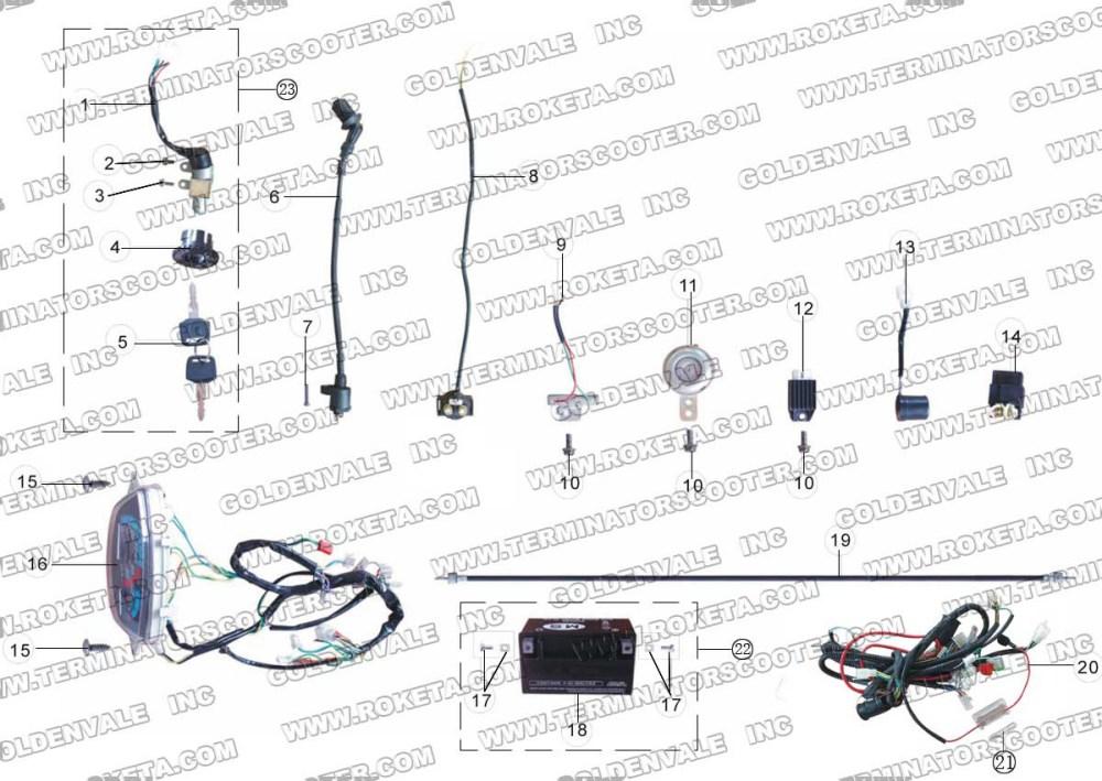 medium resolution of roketa mc 08 electrical parts 4 wheeler wiring diagram wiring diagram roketa mc 08