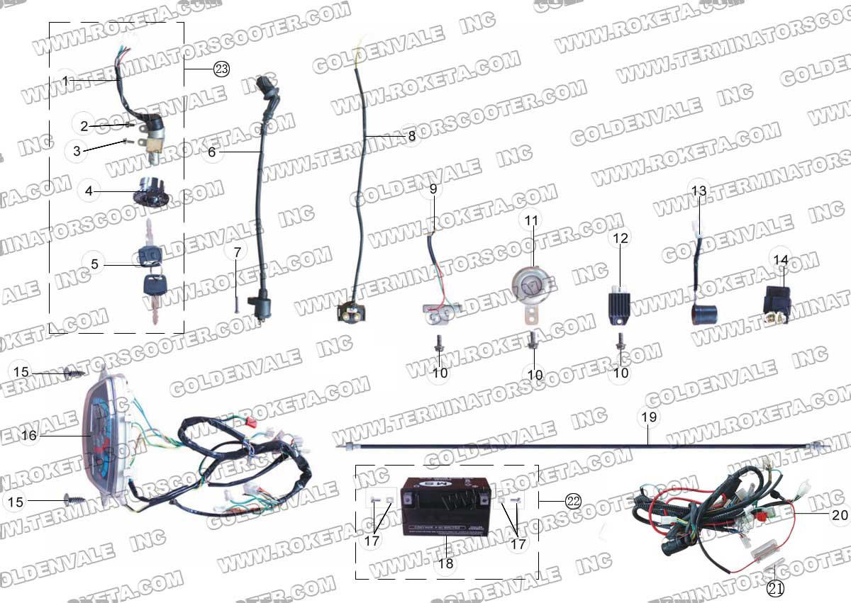 hight resolution of roketa mc 08 electrical parts 4 wheeler wiring diagram wiring diagram roketa mc 08