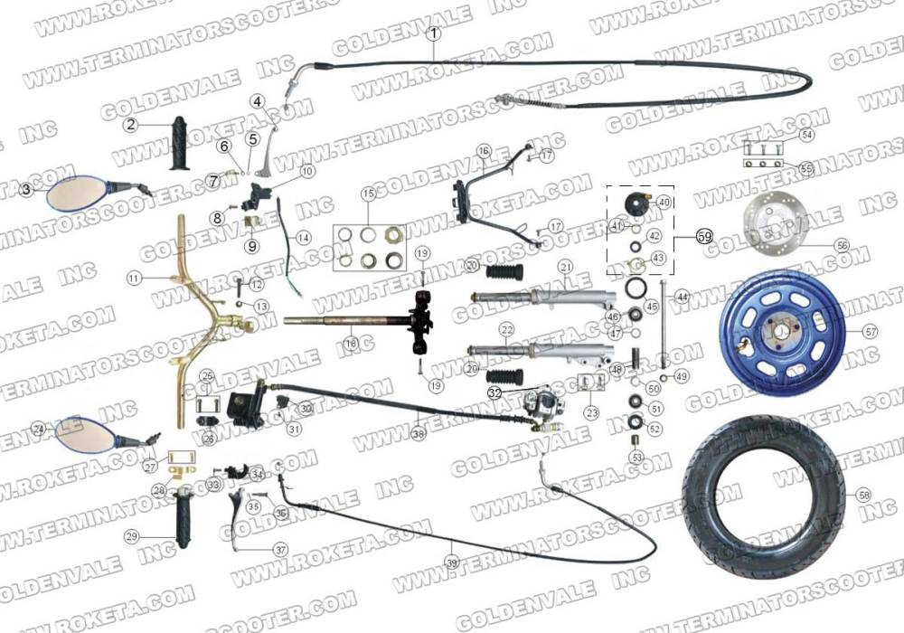 medium resolution of wiring diagram roketum mc 08