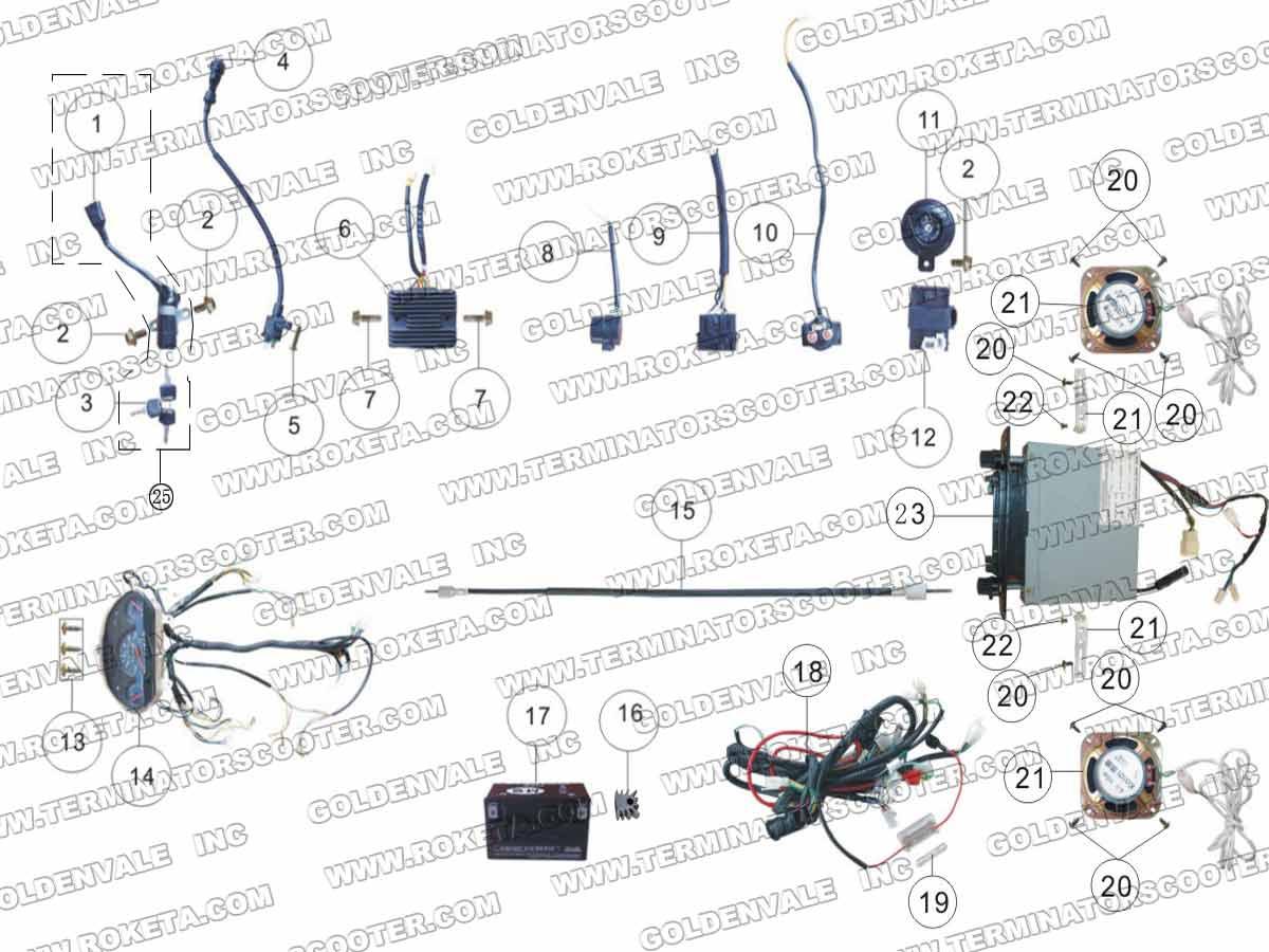 hight resolution of roketum maui 50 wiring diagram